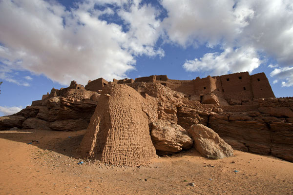 The old town of Taghit seen from below | Taghit | Algeria