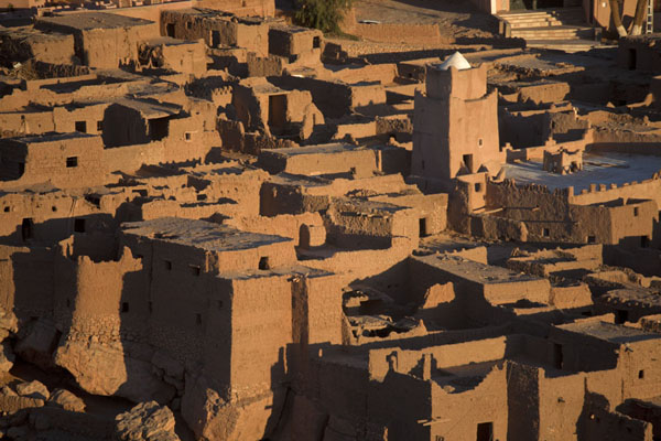 Foto di The old town of Taghit seen from aboveTaghit - Algeria