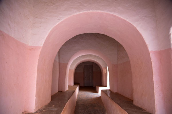 Picture of Timimoun Old Town (Algeria): Old mosque of Timimoun: the entrance