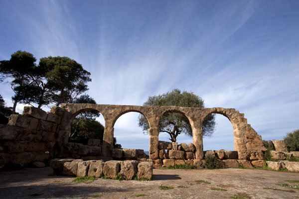 Foto di Arches of the Great Christian BasilicaTipaza - Algeria