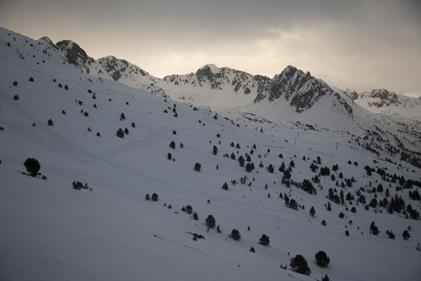 Picture of Morning light over the mountains near EnvaliraEnvalira - Andorra
