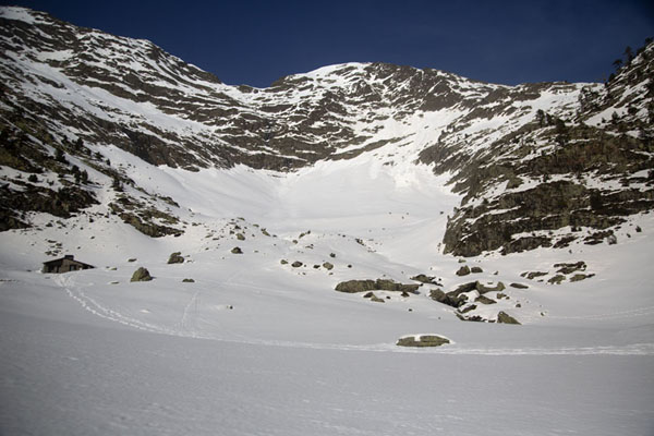 Picture of The upper part of the mountains near Pla de l'EstanyPla de l'Estany - Andorra