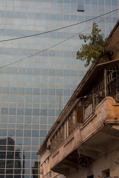 Picture of Old colonial building next to modern concrete structureLuanda - Angola