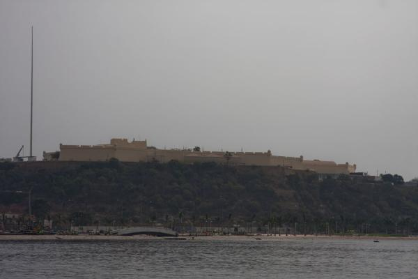 Picture of The Fortress of São Miguel on the hill dominating the Marginal