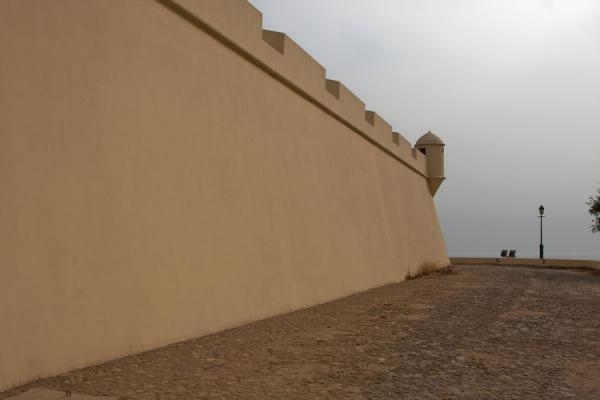 Outer wall of the Fortaleza | Fortaleza de São Miguel | Angola
