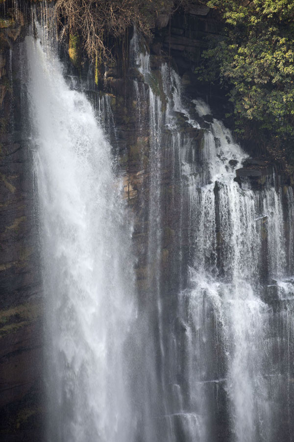 Foto van Part of Kalandula Falls in close-up - Angola - Afrika