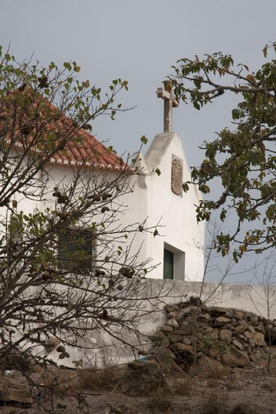 Picture of The chapel where slaves were baptized before their voyageMorro da Cruz - Angola