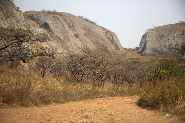 Landscape of rocks at Pungo Andongo - 安哥拉