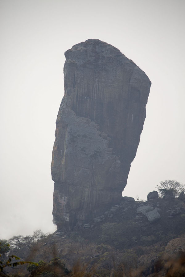 Photo de One of the most striking rock formations at Pungo Andongo - Angola - Afrique