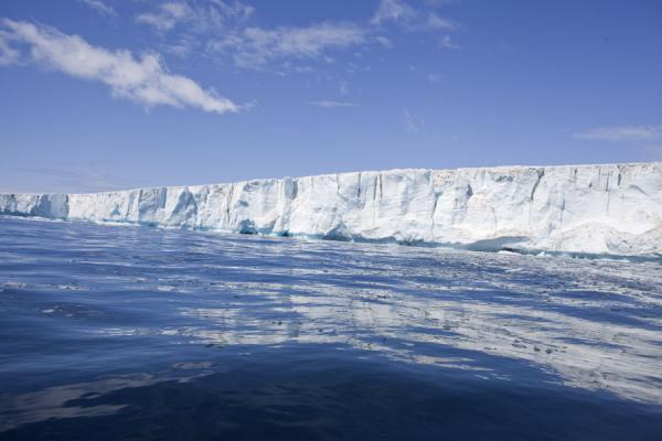 Photo de Face of glacier at Brown BluffBaily Head - Antarctique
