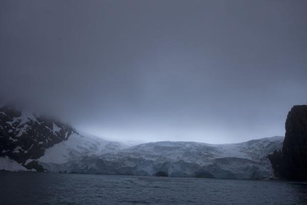 Picture of Massive glacier coming down from Elephant Island - Antarctica - Antarctica