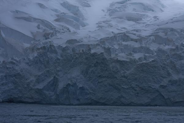 Rugged glacier face at Point Wild | Point Wild | Antarctica