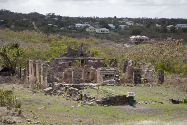 The Managers House seen from above | Betty's Hope Plantation | Antigua en Barbuda
