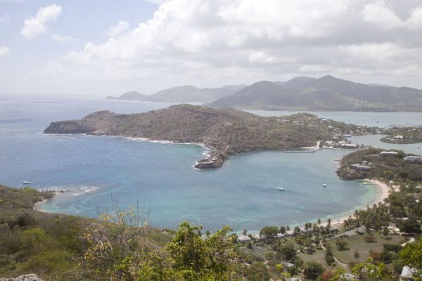 View over English Harbour from Shirley Heights | English Harbour | Antigua en Barbuda