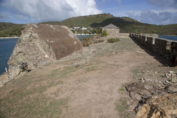 Picture of Fort Berkeley protecting the entrance to English Harbour