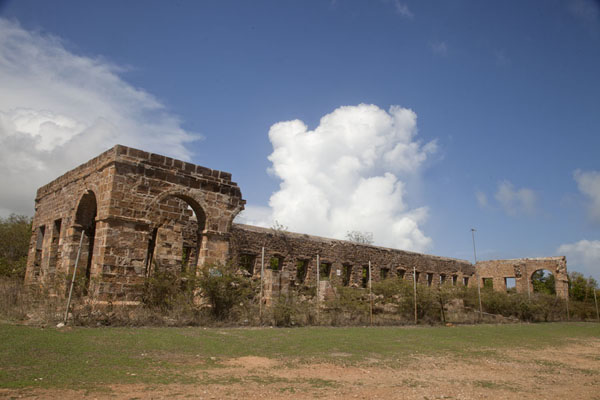 Picture of Shirley Heights has several ruins, of which this one is the largest - Antigua and Barbuda - Americas