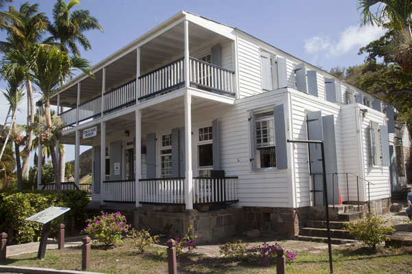 Admiral's House, currently the museum of Nelson's Dockyard | English Harbour | Antigua and Barbuda