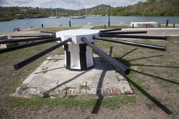 Foto van Capstan in Nelson's DockyardEnglish Harbour - Antigua en Barbuda
