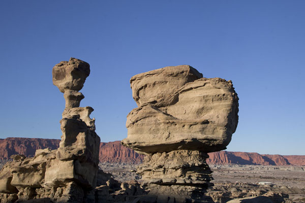 The Submarine rock formation which crumbled just days before my visit | Parque Ischigualasto | Argentina