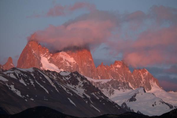 Fitzroy range seen at sunrise | Parque Nacional Glaciares | Argentina