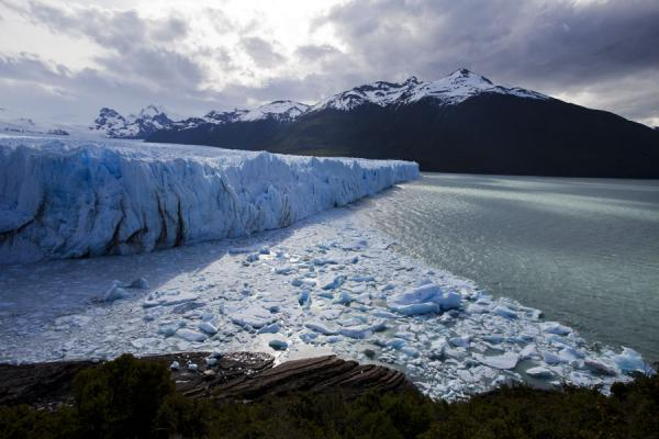 Picture of Perito Moreno Glacier (Argentina): Wall of ice and the lower part of Lago Argentino