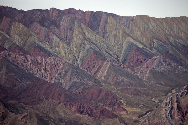 Picture of The colourful mountain range of Hornocal near Humahuaca
