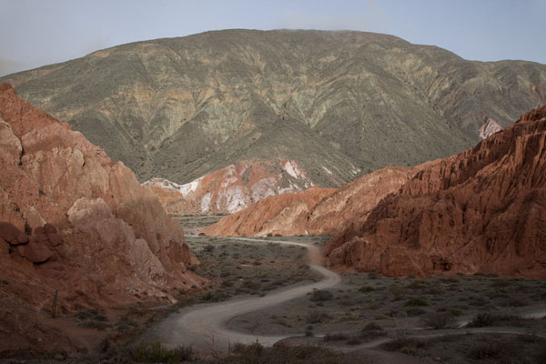 The Cerro de los Siete Colores close to Purmamarca | Quebrada de Humahuaca | Argentina