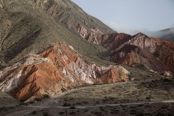 The colourful landscape near Purmamarca | Quebrada de Humahuaca | Argentina