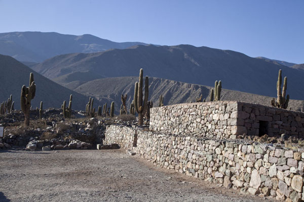 The reconstructed strategic settlement or pucara of Tilcara | Quebrada de Humahuaca | Argentina