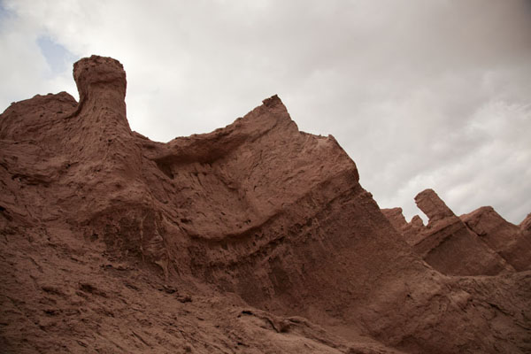 Picture of Rugged mountains at the formation called Ventanas for the holes in the rocks
