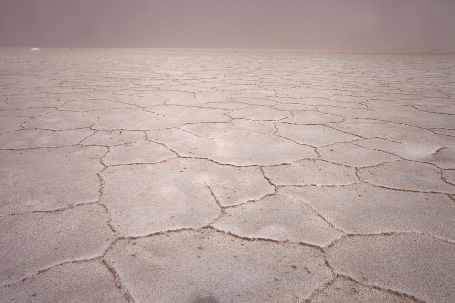Salt surface until the horizon | Salinas Grandes | Argentinië