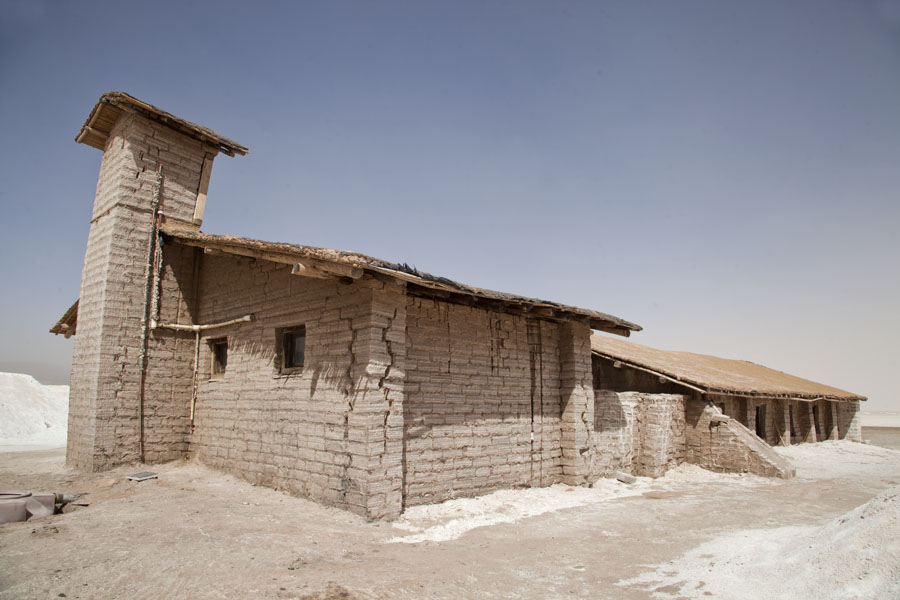 House constructed of salt bricks | Salinas Grandes | Argentinië