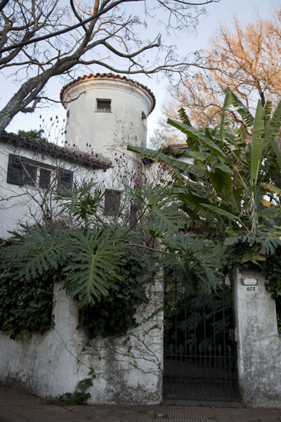 的照片 House with circular tower in San Isidro - 阿根廷