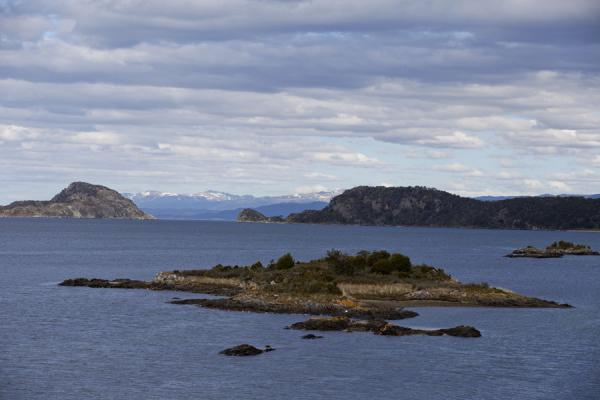 Small islands in the Bahía Lapataia | Tierra del Fuego National Park | Argentina