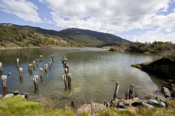 Picture of One of the many inlets of the sea at Bahía LapataiaTierra del Fuego - Argentina