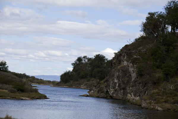 Picture of Small channel between islands near LapataiaTierra del Fuego - Argentina