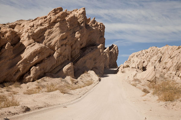 The road leading into the Quebrada de las Flechas | Valles Calchaquies | Argentinië