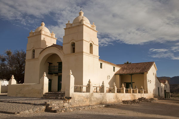 The colonial church of Molinos | Valles Calchaquies | l'Argentine