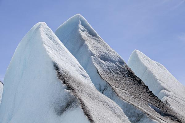 Picture of Viedma Glacier (Argentina): Pinnacles of ice piercing into the sky at the top of Viedma Glacier