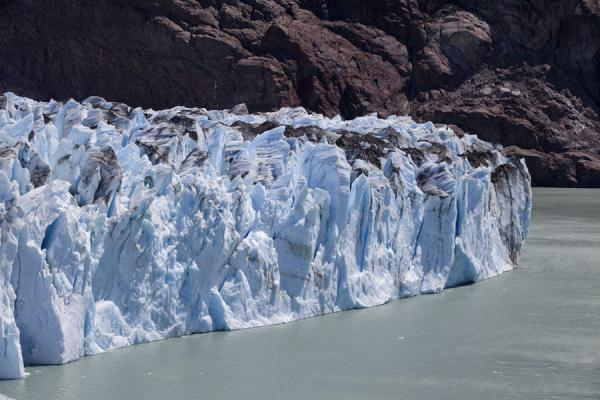 Picture of Viedma Glacier (Argentina): Face of Viedma Glacier and Lago Viedma