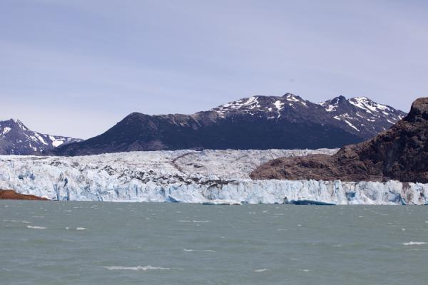 Picture of Viedma Glacier (Argentina): View of Viedma Glacier as seen from the lake with the same name