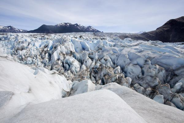 Picture of Viedma Glacier (Argentina): Looking up Viedma Glacier