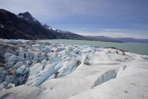 Picture of Viedma Glacier (Argentina): Looking towards Lago Viedma from the surface of Viedma Glacier