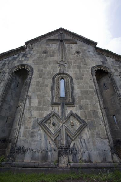 Outside view of Akhtala church | Akhtala monastery | Armenia