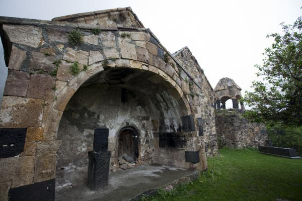 Picture of Ardvi (Armenia): Sturdy blocks of rock make up the church of the Monastery of St. John