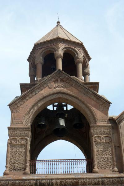 Picture of Ejmiatsin Cathedral (Armenia): Bell tower of Ejmiatsin Cathedral
