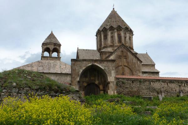 Picture of Armenia (Outside view of Gandzasar Monastery)