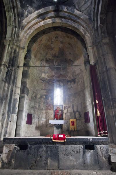 Apse of the Holy Cross church in the Haghpat Monastery complex | Haghpat monastery | Armenia