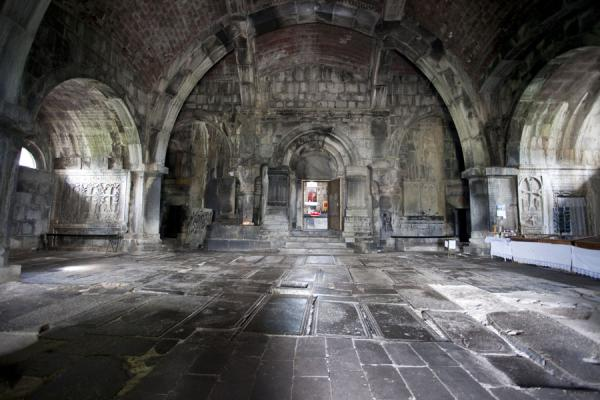 Hall inside the Holy Sign of the Cross church | Haghpat monastery | Armenia