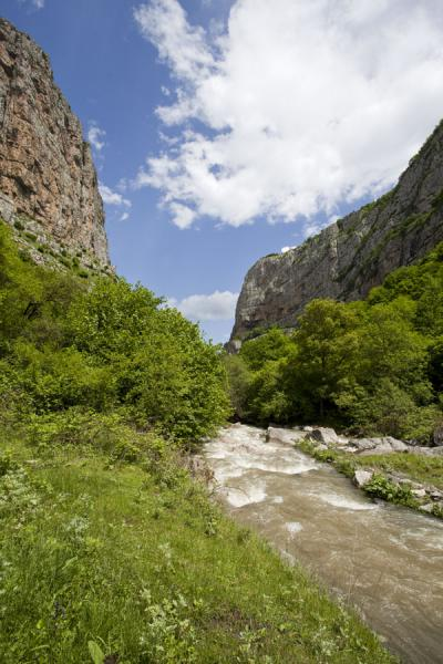 View of Karkar canyon just before it gets really narrow | Karkar gorge hike | Armenia